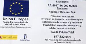 Inversión Castilla la Mancha (Union Europea)